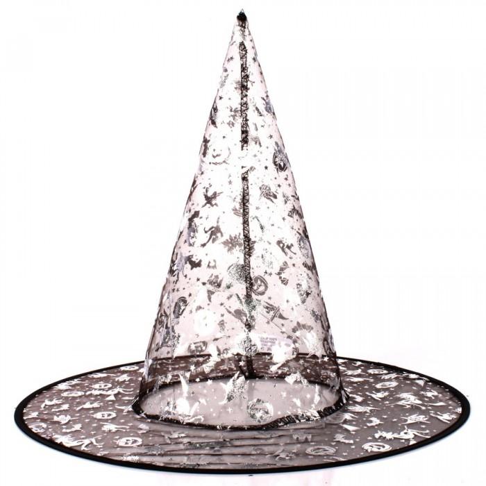 Chapéu de Bruxa Transparente