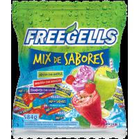 Bala Freegells Mix Sabores Verde