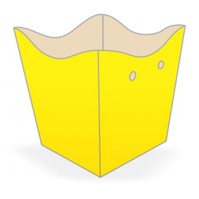 Cachepot Médio Amarelo
