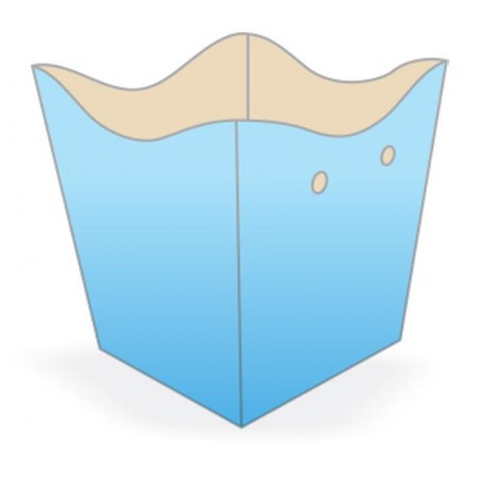 Cachepot Médio Azul Claro