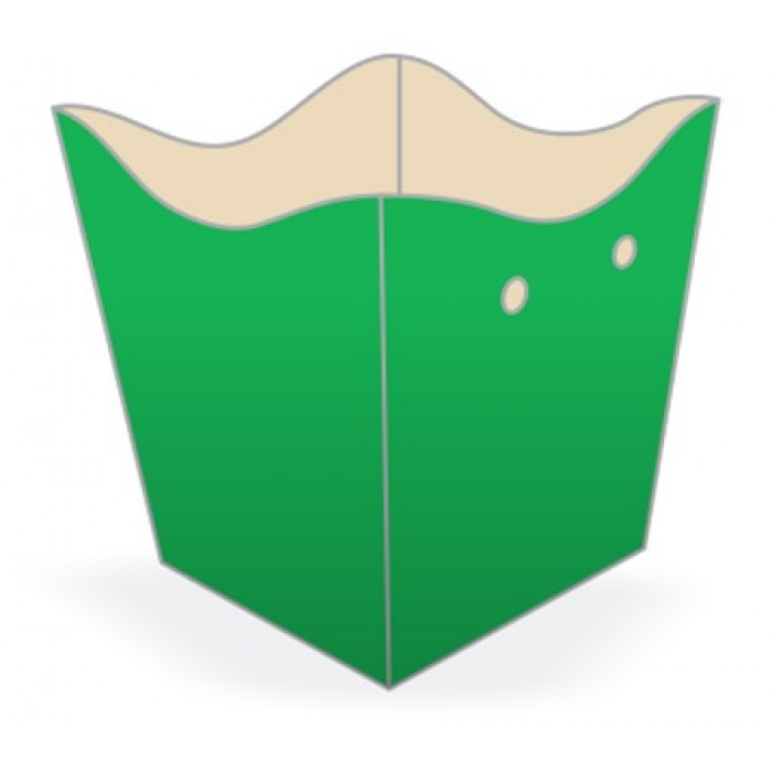 Cachepot Médio Verde Escuro