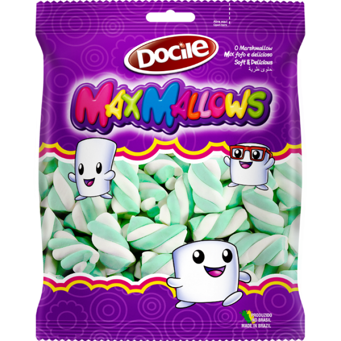 Maxmallow Twist Verde e Branco
