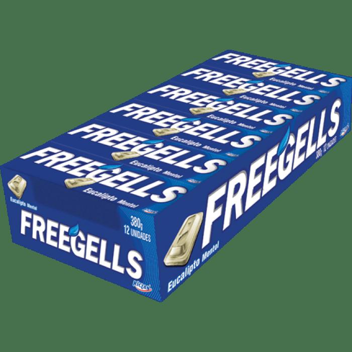 Drops Freegells Eucalipto