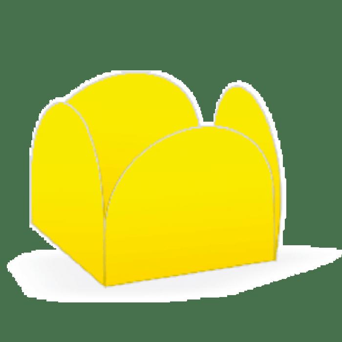 Forminha 4 Pétalas Amarela