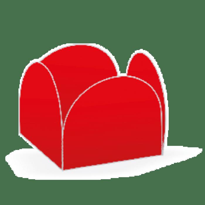 Forminha 4 Pétalas Vermelha