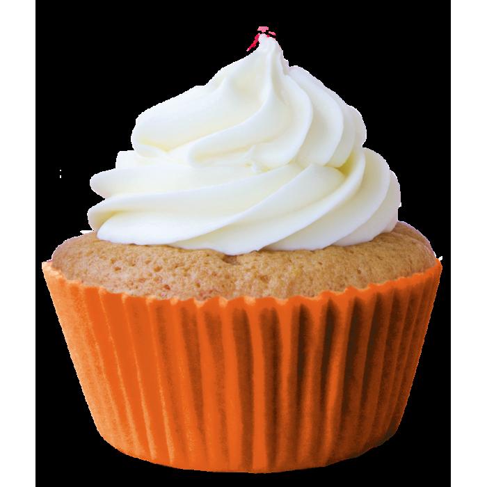 Mini Forminha Cupcake Laranja