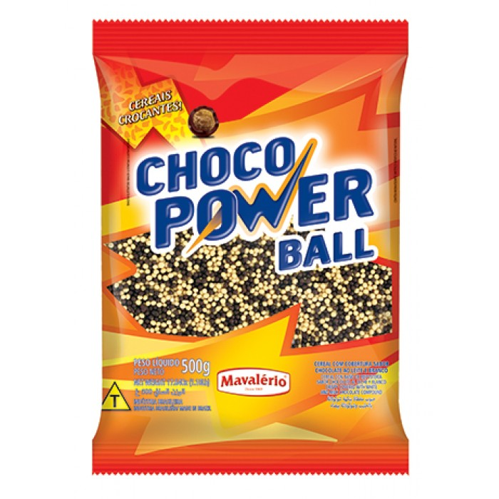 Choco Power Ball Micro Mesclado