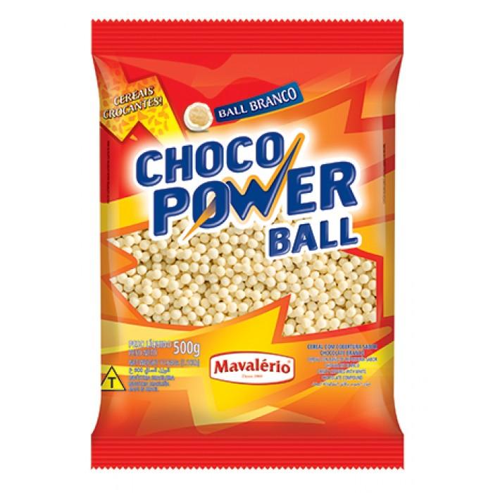Choco Power Ball Mini Branco