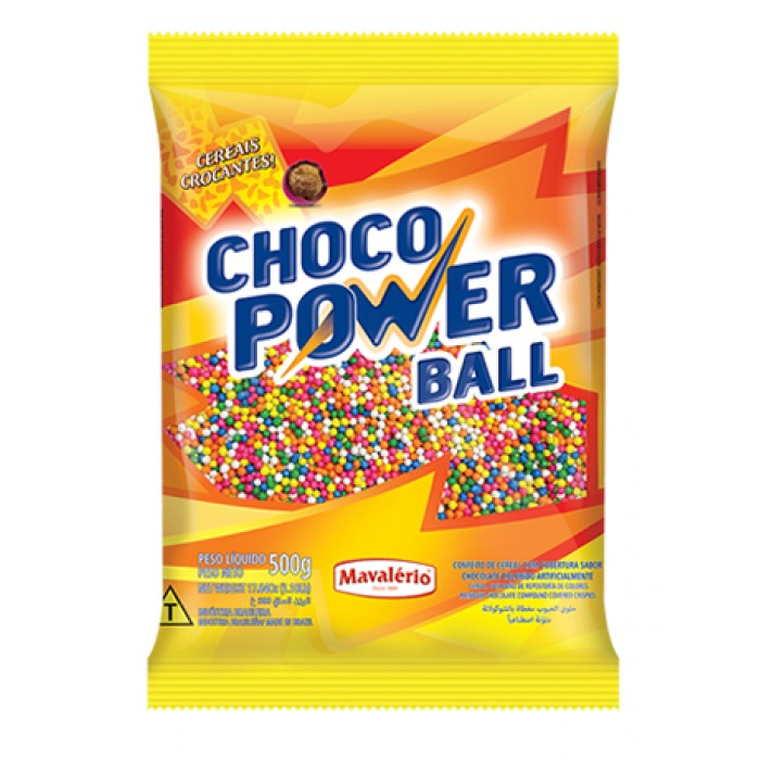 Choco Power Ball Micro Colorido