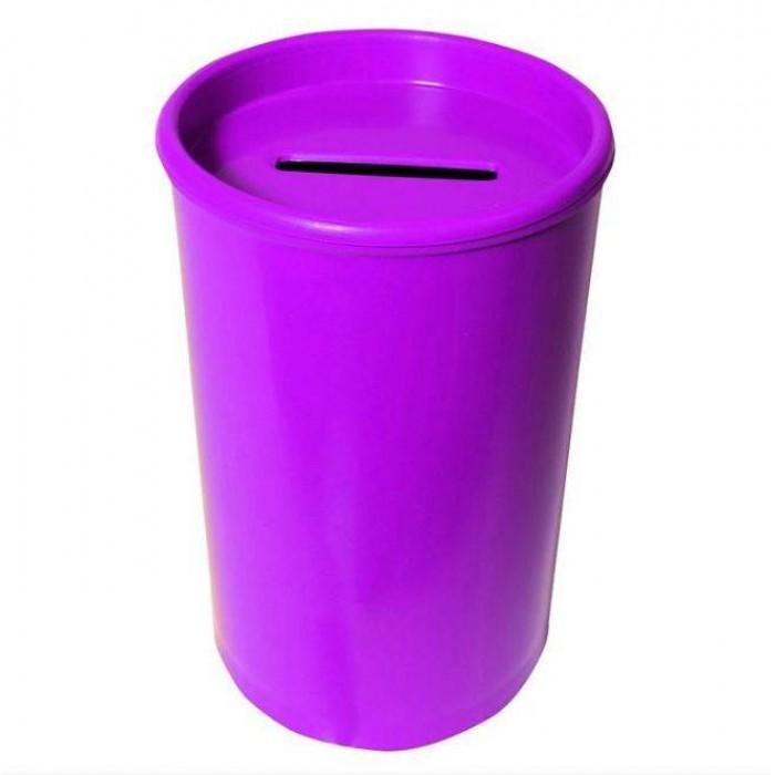 Cofrinho Plástico Lilás