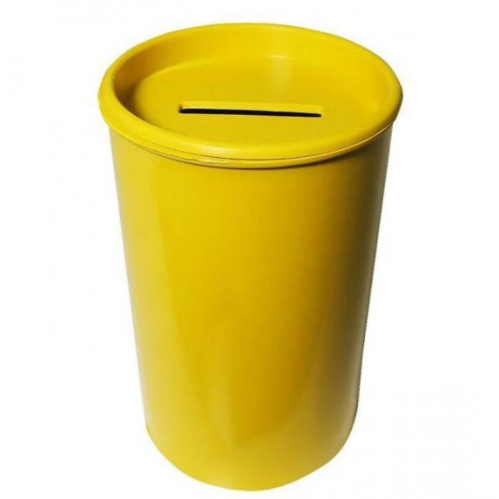Cofrinho Plástico Amarelo