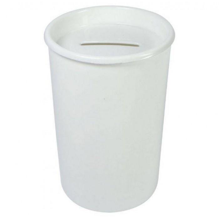 Cofrinho Plástico Branco