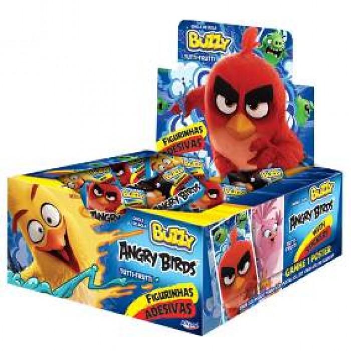 Chiclete Buzzy Angry Birds Tutti Frutti