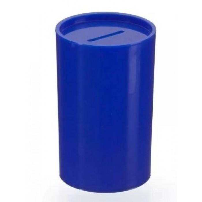 Cofrinho Plástico Azul Escuro