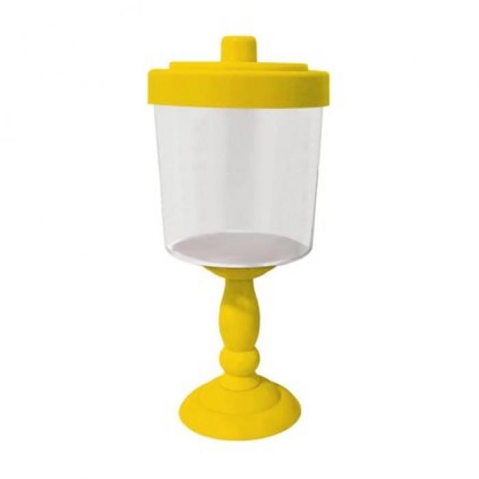 Baleiro Decorativo Amarelo