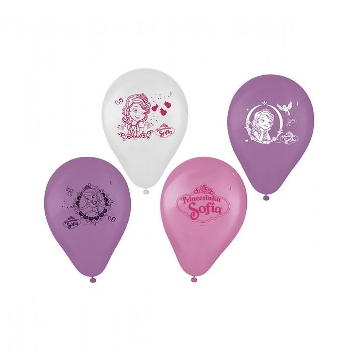 Balão Decorado Princesa Sofia