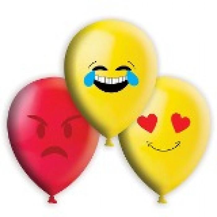 Balão Decorado Emoji