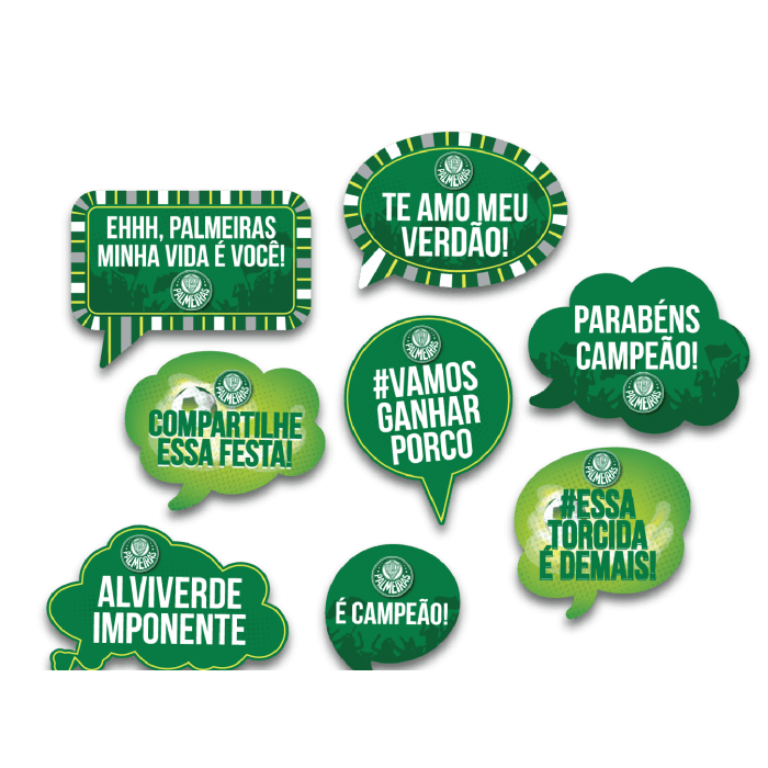Kit Placas Palmeiras