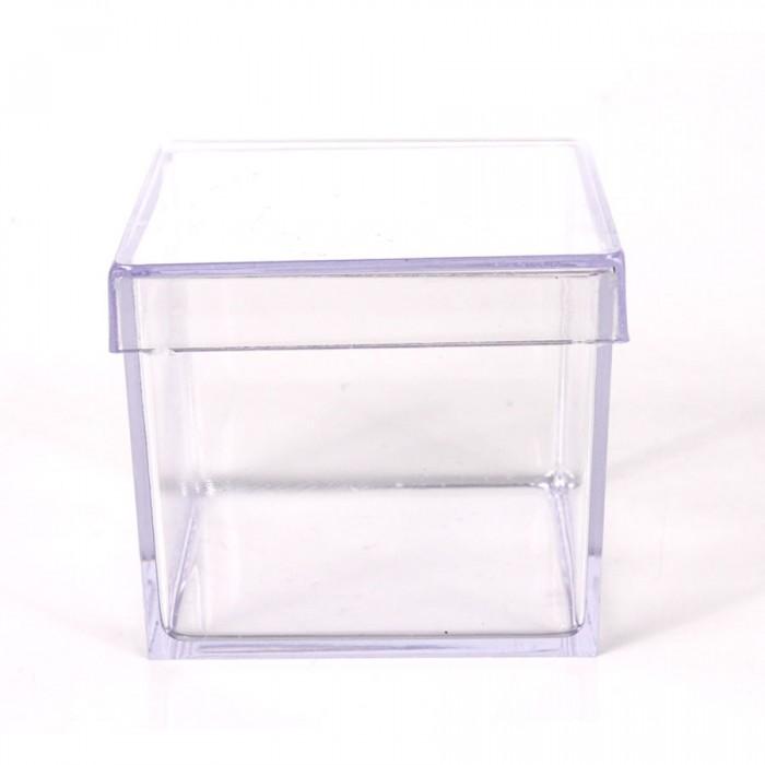 Caixinha Quadrada Cristal 4x4