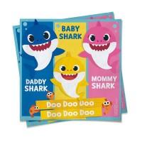 Guardanapo Baby Shark